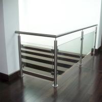 Wholesale Indoor Stainless Steel Tempered Glass Railings Handrail Philippines from china suppliers