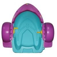 Wholesale Mini Hand Water Inflatable Toy Boat Swimming Pool Plastic Paddle Boat from china suppliers