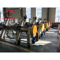 China YIKE Electric Shaftless Mill Roll Stand / Reel Stand Used For Single Facer Line for sale