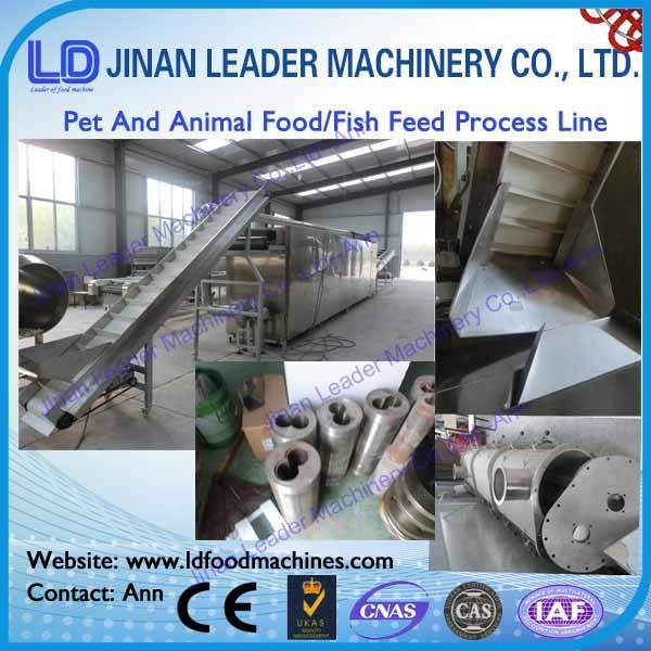 Quality 500kg/h fish food pet food dog food machine processing line for sale