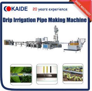 China PE Inline Flat Drip Irrigation Tape Production Line/Making Machine/Extrusion Machine Line on sale