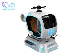 Wholesale Vr Airplane Full Flying Games Simulator 9D Vr Flight Simulator Cockpit Aircraft Gaming Machine With Vr Glasses from china suppliers