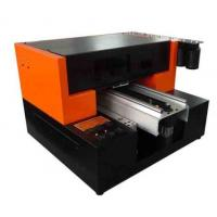Wholesale White DX7 Head Uv Led Inkjet Printer , Digital Printing A3 UV Flatbed Printer from china suppliers
