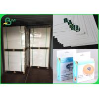 China FSC White Cardboard Paper Single Side Coated FBB Board 300gsm For Brochure for sale