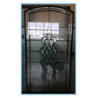 Wholesale Decorative textured glass panels for wood doors from china suppliers