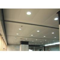 China Perforated Acoustic Lay In Ceiling Tiles for sale