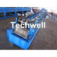Buy cheap Steel Structure C Shaped Purlin Roll Forming Machine for Making C Purlin Profile from wholesalers