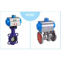 Pneumatic Ball Valve DN50 2 inch size single acting stainless steel 304 indicator limited switch