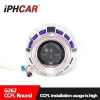 Wholesale IPHCAR CCFL Mini H1 Lens Dual Color CCFL Ring Hid Xenon Projector Lens with H1 Xenon Bulb from china suppliers