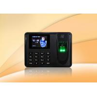 Wholesale Thumbprint time attendance system biometrics security with SSR report , Scheduled bell from china suppliers