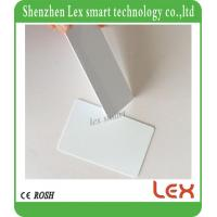 China Rewritable Rfid 1k Blank Original M Ifare1 S50 Chip Card White Thin Pvc Card 13.56mhz Iso14443a Ic Smart Cards on sale