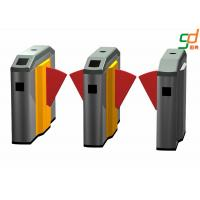 Wholesale High Security Low Noise Flap Barrier Gate Metro Entrance Turnstile from china suppliers