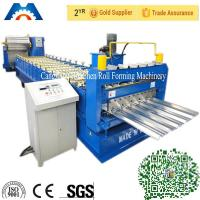 Wholesale Aluminium Roofing Sheet IBR Roof Panel Roll Forming Machine With PLC Control from china suppliers