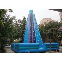 Wholesale Giant Inflatable Interactive Games Inflatable Rock Climbing Wall Rentals from china suppliers