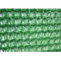 Wholesale Three Needle Plastic Wire Mesh , Knitted Sun Shade Net HDPE For Greenhouse from china suppliers