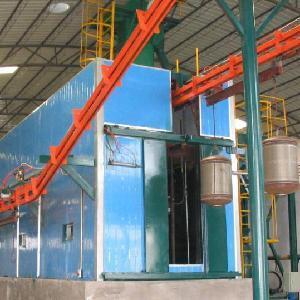 Wholesale Water Heater Internal Sandblast Machine from china suppliers
