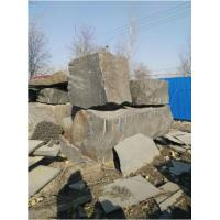 Cut to Size Hebei Black/Shanxi Black/Mongol Black Granite Block for sale