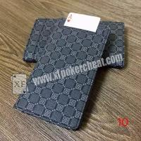 Wholesale Leather Poker Cheat Device Electronic Wallet Card Exchanger For Magic Trick from china suppliers