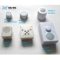 Wholesale ABS Plastic Push Sound Module With Customized Sound , Voice, Melody from china suppliers
