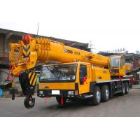 Wholesale Yellow XCMG Truck Mounted Crane For Mining Area  / 35 Ton Truck Crane from china suppliers