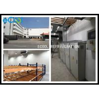 China 3000㎡ / Refrigeration Cold Storage Logistics And Distribution Center With High Rise Racks for sale