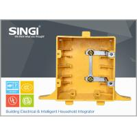 Buy cheap OEM / ODM 2 Plastic outlet box with covers non metallic weatherproof from wholesalers