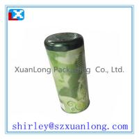 Wholesale round tin box for coffee bean from china suppliers