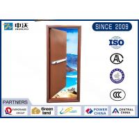 Wholesale Self Closing Fire Rated Steel Door / Sound Insulation Commercial Steel Fire Doors from china suppliers