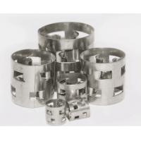 China Metallic SS Pall Rings , Random Packing Column Heat Resistance For Absorption Tower on sale