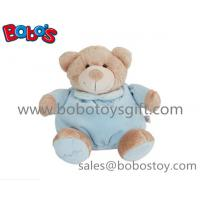 China 10Blue Plush Infant Toys Baby Toy Sleeping Bear For your Kids Sleeping Time on sale