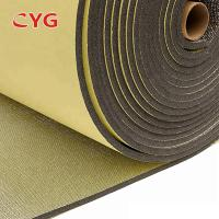 China Self Adhesive Construction Heat Insulation Foam With Aluminium Foil One Side for sale