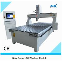 Buy cheap cnc router wood engraving cutting machine for mdf pvc taiwan guide rail DSP optional from wholesalers