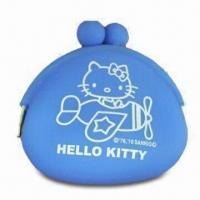 Wholesale Silicone Coin Purse for Women/Children, Easy-to-carry, Water-resistant, Eco-friendly, Fashion Design from china suppliers
