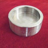 ASTM A403 WP321H Sch80 ASME B16.9 Butt Welding Stainless Steel Pipe Cap for sale