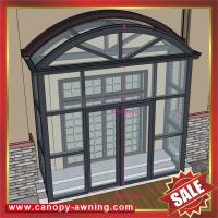 Wholesale Villa house patio gazebo porch door aluminum alu metal glass awning canopy canopies cover cabin room enclosure kits from china suppliers