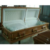 Wholesale Lacquered Paulownia Wooden Coffin Funeral Coffin Customization from china suppliers