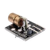 Quality 650nm Laser sensor Module 6mm 5V 5mW Red Laser Dot Diode Copper Head for Arduino for sale