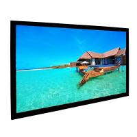 Buy cheap Custom 92 Inch Fixed Projector Screen For Digital Cinemas Aluminum Frame from wholesalers
