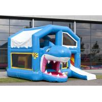 Wholesale Blue Roof Inflatable Combo WITH Double - Tripple Stitch EN14960 from china suppliers