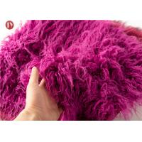 Wholesale Toys Mongolian Fur Fabric , Upholstery Super Luxury Faux Fur Fabric Hometextile from china suppliers