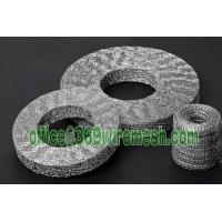 Wholesale Compressed knitted mesh,Metal knit gasket for EMI/RFI,Pressed knitted wire mesh seal from china suppliers
