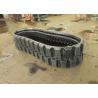 Kubota / Bobcat Excavator Rubber Tracks 450 * 86 * 58mm Excavators Machinery Parts for sale