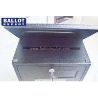 Quality Printed Customized Metal Suggestion Boxes With Lock Non - Toxic Rectangular for sale