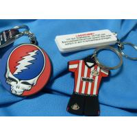 Festival Fashion Design Custom Imprinted Promotional Items Silicone Souvenir Keychain for sale