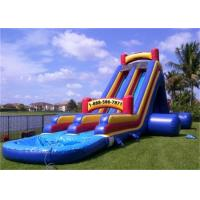 Wholesale Interesting Inflatable Water Slide , Banzai Inflatable Outdoor Water Slide from china suppliers