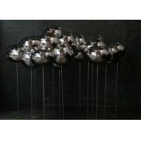 Wholesale Polished Stainless Steel Sculpture Cloud Art Modern Home Decoration Forging Technique from china suppliers