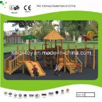 Wholesale Wooden Series Outdoor Playground Equipment (KQ10155A) from china suppliers