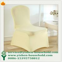Wholesale Yishen-Household Made in China dining room home used spandex chair from china suppliers