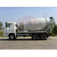 Wholesale Air Pressure Ready Mix Cement Truck 10-12CBM , Water Supply Mobile Concrete Batch Truck from china suppliers