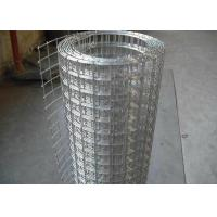 Buy cheap Hot Dip Galvanized Welded Wire Mesh Roll For Wall Protect Warm Or Fence from wholesalers